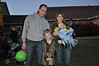 First Baptist Church Willow Park Trunk or Treat, October 28, 2012 - Daniel and Jennifer S, Hannah and Seth