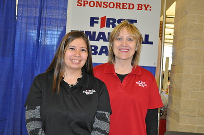 Greater Metro West Association of Realtors Home and Living Fair October 27, 2012 - Erica Haney and Debby Berkley of First Financial Bank