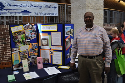 Greater Metro West Association of Realtors Home and Living Fair October 27, 2012 - Eddie Burnett, Executive Director of the Weatherford Housing Authority