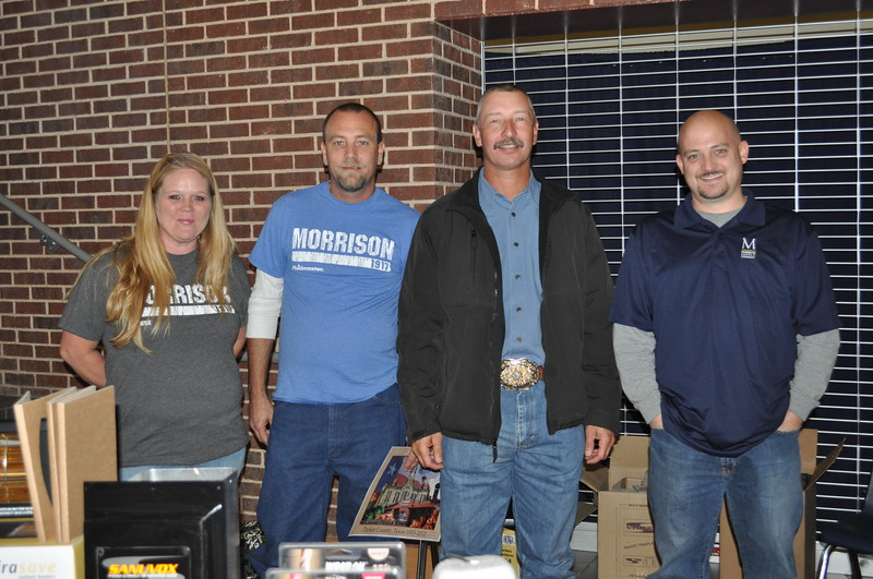 Greater Metro West Association of Realtors Home and Living Fair October 27, 2012 - Jennifer and Kevin Royster, Russell Alford and Cody Petty of Morrison Supply