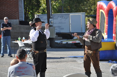 Weatherford Hometown Heritage Stampede Oct. 27, 2012 - David Hansford and Brad Gandy, Legends of Texas