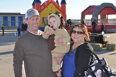 Jerry's Fall Fest October 27, 2012 - Mike, Colby and Jana Smith