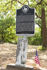 The first historical marker recognizing an African American in Parker County was unveiled Saturday at Willow Springs Colored Cemetery.