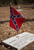 The Sons of Confederate Veterans restored the tombstone and provided a foot stone with Robertson's unit information engraved on it.  Robertson died August 27, 1864.