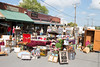 Antique Alley vendors display their wares on York Avenue.