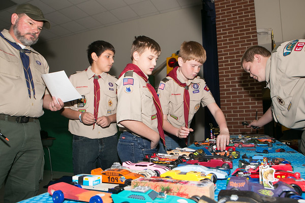 Pinewood Derby 2014 - Aledo Pack 109
