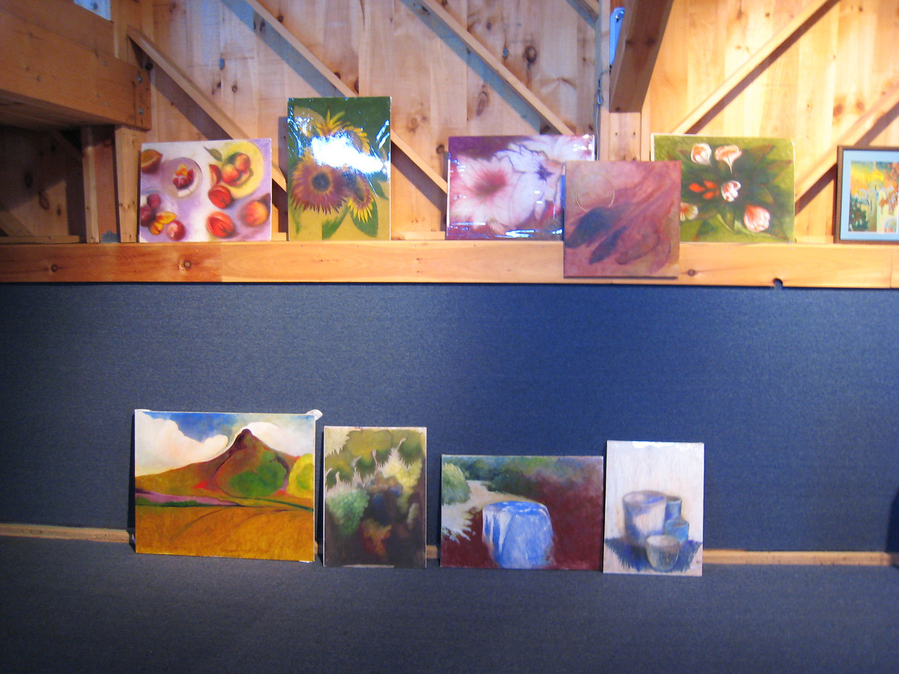 A taste of some of the art to be auctioned.