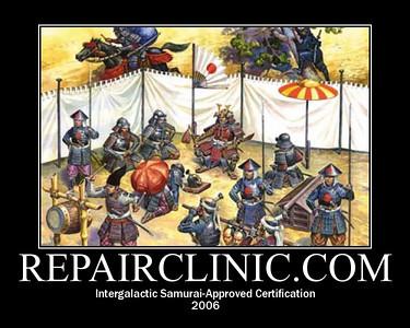 Intergalactic Samurai-Approved Certification, 2006