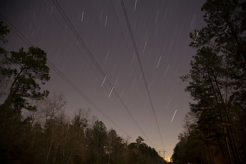 !/17/13<br /> First attempt at star trails.  Hoping to improve!