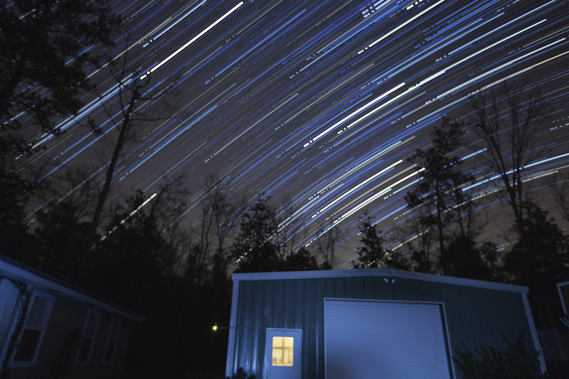 2/5/13 - Still playing with star trails!