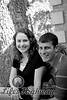 Chris and Michelle II<br /> BW