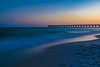 Navarre Pier just after sunset