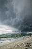 Storm clouds over Pensacola Pier