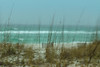 Rain muted beach scence 01/22/18