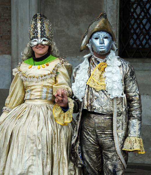 Masquerade in Venice, Italy