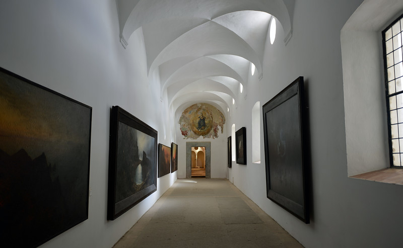Museum of the San Giacomo monastery in Capri, Italy