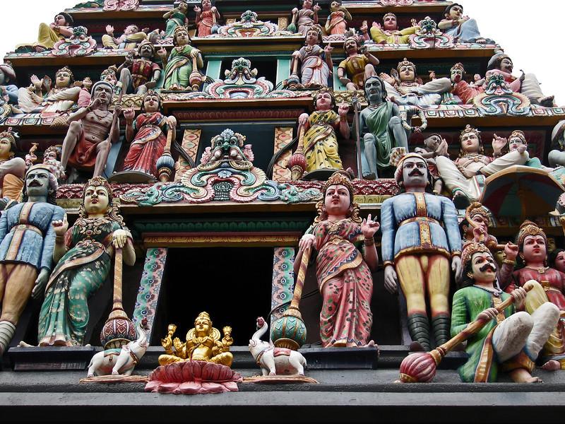 Sri Mariamman Hindu temple in Singapore