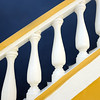 External staircase of colonial building in Willemstad, Curaçao