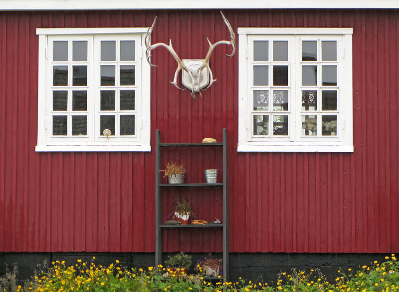 Wooden home in Nuuk, Greenland