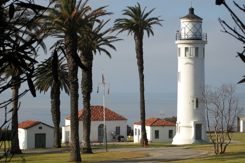 Point Vicente lighthouse at Palos Verdes, California