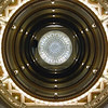 Central rotunda and stained-glass dome at the Union Trust building in Pittsburgh, USA
