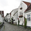 Traditional homes in Stavanger, Norway