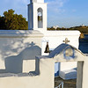 Chapel along the coast of Tinos island, Greece