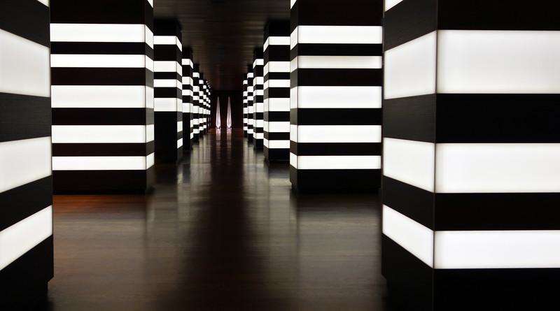 Modern hotel lobby, The Netherlands