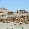 Crumbling ancient city of Palmyra, Syria
