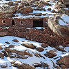 Primitive shelter in the High Atlas, Morocco