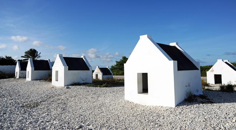 Slave huts on Bonaire