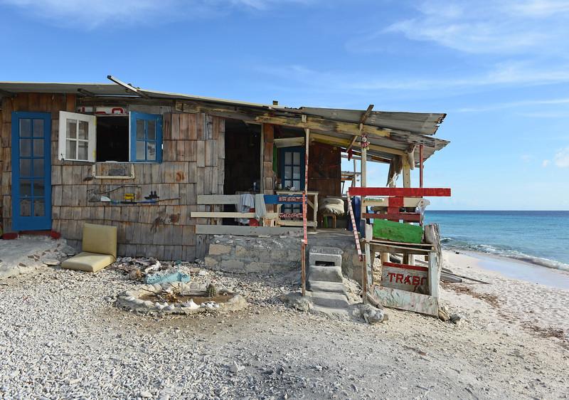 Beach hut in southern Bonaire