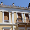 Restored neo-classical mansion in central Athens, Greece