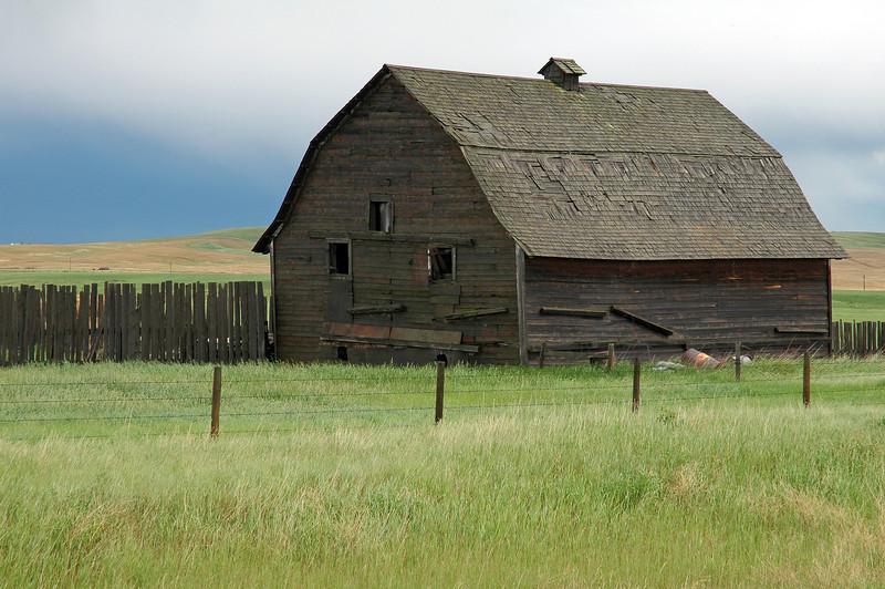 Traditional barn in Alberta, Canada
