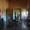 Living quarters in Hacienda Yaxcopoil in west Yucatan, Mexico