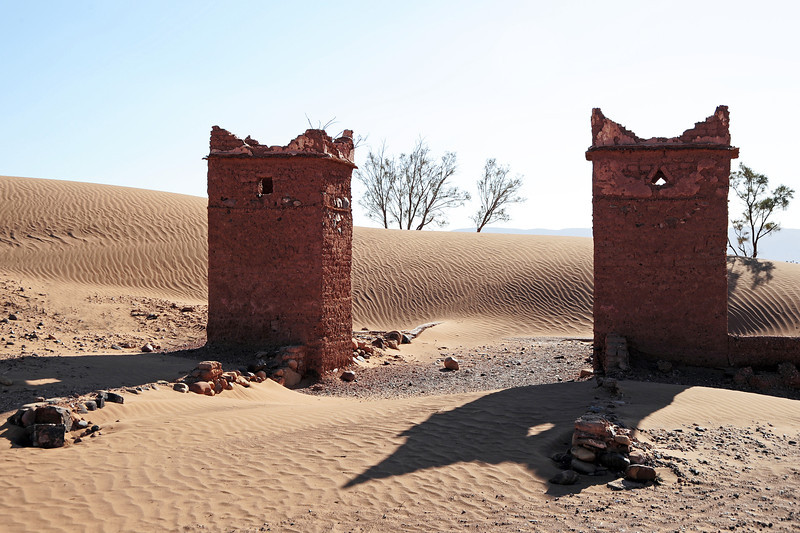 Portal to the desert, southern Morocco