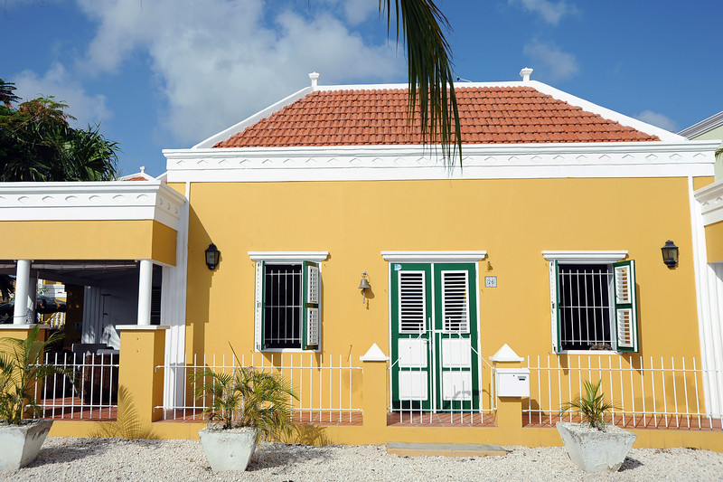 Restored traditional home in Kralendijk, Bonaire