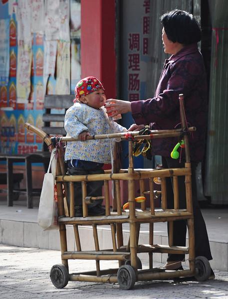 Feeding the little emperor, China