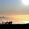 Waiting for sunset at the top of Maui's Haleakala volcano (2970 m), Hawaii