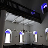 Interior of Mikvé Israel - Emanuel synagogue in Willemstad, Curaçao