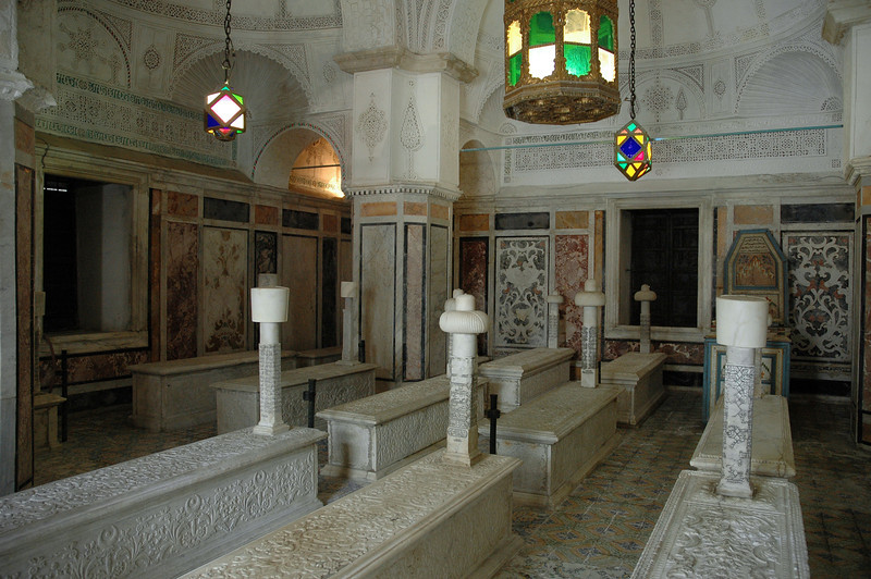 Islamic tombs in the capital, Tunisia