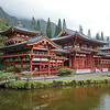 Byodo-In Buddhist Temple on Oahu, Hawaii