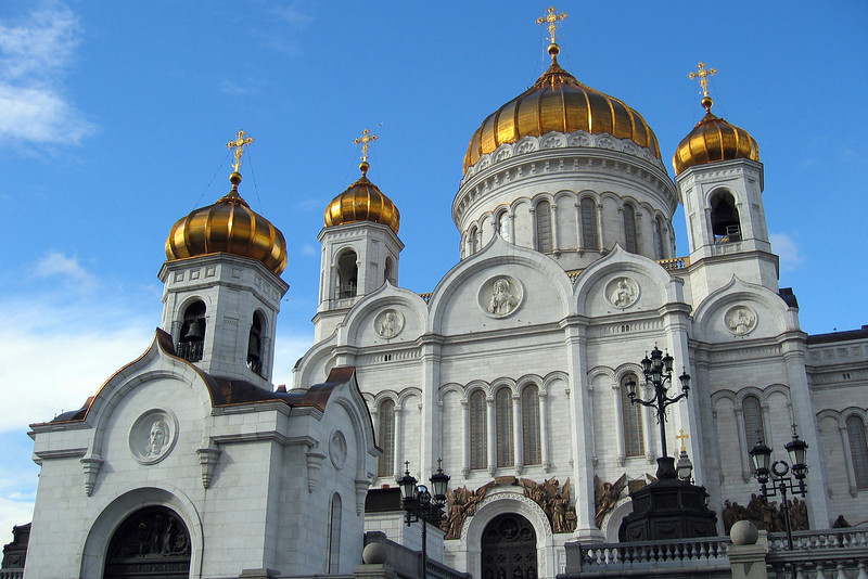 Christ the Saviour, Russian Orthodox cathedral in Moscow