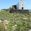 Rural chapel near the village of Tarabados on Tinos island, Greece