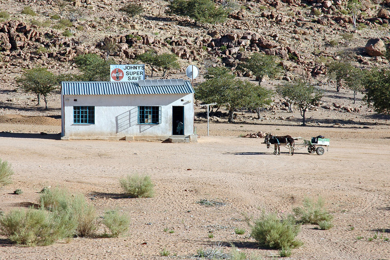 Countryside store in central Namibia