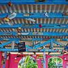 Abandoned beach bar, Bonaire