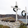 Cemetery at Upernavik, northwest Greenland