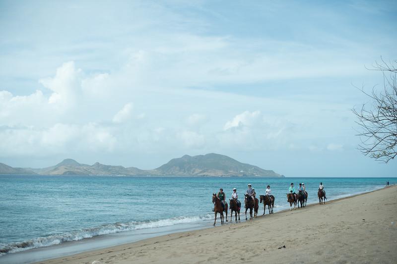 Horseback in Nevis