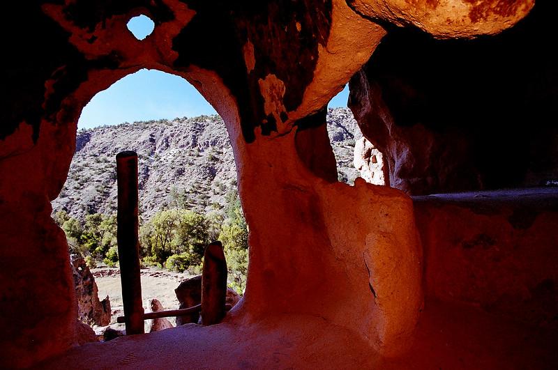 Bandalier Cliff Dwelling.