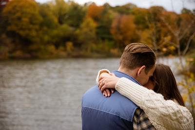 Sweet embrace under fall colours